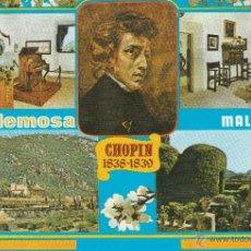 Postales: Nº 13855 POSTAL MALLORCA VALLDEMOSA CHOPIN . Lote 45760362