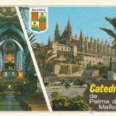 Postales: Nº 14714 POSTAL PALMA LA CATEDRAL MALLORCA. Lote 45953589