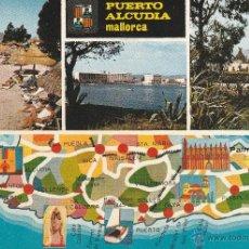 Postales: Nº 14788 POSTAL PUERTO ALCUDIA MALLORCA. Lote 45953593