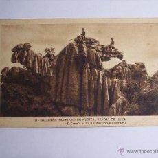 Postales: MALLORCA ( SANTUARIO DE NUESTRA SEÑORA DE LLUCH) EL CAMELL. Lote 46023855