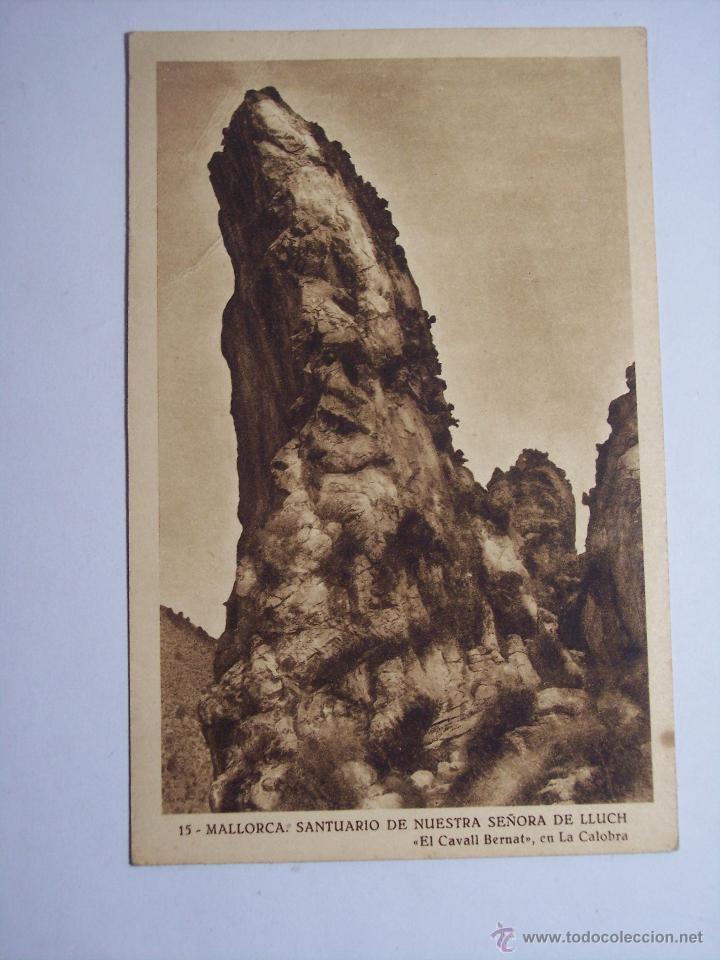 MALLORCA ( SANTUARIO DE NUESTRA SEÑORA DE LLUCH) EL CAVALL BERNAT (Postales - España - Baleares Moderna (desde 1.940))