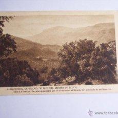 Postales: MALLORCA ( SANTUARIO DE NUESTRA SEÑORA DE LLUCH) CLOT D'AUBARCA. Lote 46023989