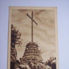 Postales: MALLORCA ( SANTUARIO DE NUESTRA SEÑORA DE LLUCH) CRUZ MONUMENTAL. Lote 46024020