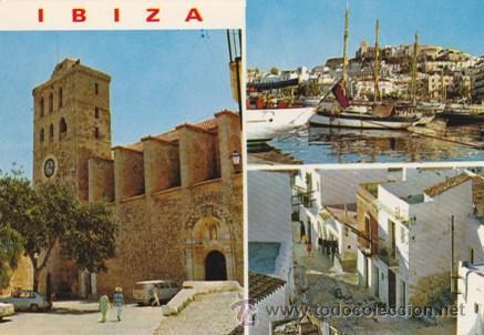 IBIZA - DETALLES DE LA CIUDAD - Nº 275 - ED. EXCLUS. CASA FIGUERETAS - AÑO 1972 - NUEVA - (Postales - España - Baleares Moderna (desde 1.940))