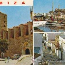 Postales: IBIZA - DETALLES DE LA CIUDAD - Nº 275 - ED. EXCLUS. CASA FIGUERETAS - AÑO 1972 - NUEVA -. Lote 46062414