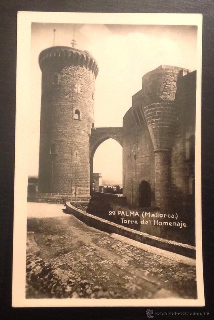 MALLORCA. PALMA.TORRE DEL HOMENAJE. (Postales - España - Baleares Antigua (hasta 1939))
