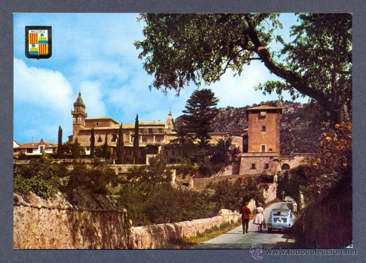 VALLDEMOSA. MALLORCA. LA CARTUJA Y PALACIO DEL REY D. SANCHO (Postales - España - Baleares Moderna (desde 1.940))