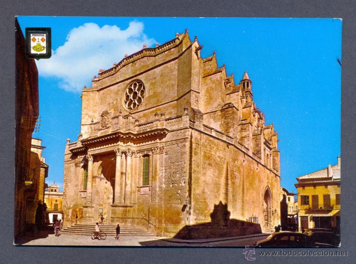 CIUDADELA. ISLA DE MENORCA. CATEDRAL (Postales - España - Baleares Moderna (desde 1.940))