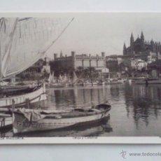 Postales: POSTAL PALMA DE MALLORCA - LONJA Y CATEDRAL . Lote 46464155