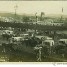 Postales: POSTAL VAPOR REY JAIME I PALMA DE MALLORCA (BALEARES) SERIE TRUYOL. PUERTO. SIN CIRCULAR. Lote 46477056