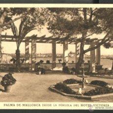 Postales: PALMA DE MALLORCA DESDE EL HOTEL VICTORIA. Lote 46561727