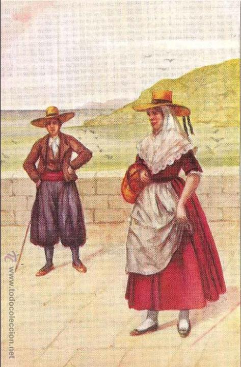 BALEARES, TIPOS MALLORQUINES - SIN CIRCULAR (Postales - España - Baleares Antigua (hasta 1939))