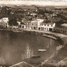 Postales: MAHON (MENORCA) PUERTO. VISTA PARCIAL FOTOGRAFICA CIRCULADA EN 1955. Lote 47049910