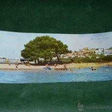 Postales: IBIZA - SANTA EULALIA DEL RIO - PLAYA Y PUEBLO - HOTEL BUENAVISTA - CAMPAÑA-PUIG FERRAN S.III N.51. Lote 47209734