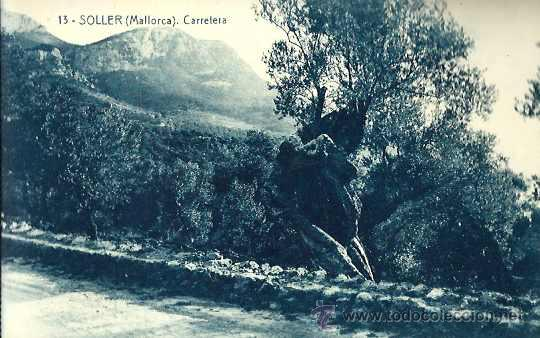 SOLLER - POSTAL Nº 18 - CALA DEL GALLO - 12100 FOT. THOMAS BARCELONA - MUY ANTIGUA - SIN CIRCULAR (Postales - España - Baleares Antigua (hasta 1939))