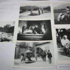 Postales: LOTE DE 6 POSTALES DE POLLENSA, FOTOGRAFIAS CASA BESTARD 1898, PUNT GRAFIC 1989. Lote 47527377