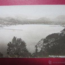 Postales: PUERTO DE ANDRAITX. MALLORCA.. Lote 47536508