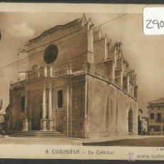 Postales: CIUDADELA - 9 - LA CATEDRAL - ROISIN - (29084). Lote 47577178