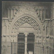 Postales: PALMA DE MALLORCA - CATEDRAL, PUERTA DE MIRADOR. Lote 47600717