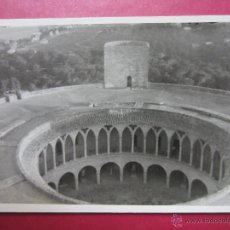 Postales: PATIO DEL CASTILLO DE BELLVE. PALMA DE MALLORCA. FOTOGRAFICA. FOTOGRAFIA.. Lote 47780801