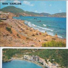 Postales: P- 556 LOTE 2 POSTALES IBIZA AÑOS 60.. Lote 47811658