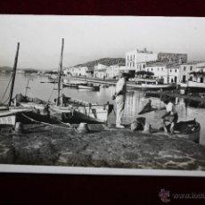 Postales: ANTIGUA POSTAL DE POLLENSA. MALLORCA. EL PUERTO - SIN CIRCULAR - FOTO GUILERA.. Lote 47812887