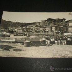 Postales: PUERTO DE SOLLER MALLORCA 1926 POSTAL FOTOGRAFICA MARINA DE GUERRA ALEMANA MARINOS EN EL PUERTO. Lote 47862384
