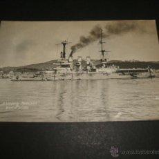 Postales: PALMA DE MALLORCA 1926 POSTAL FOTOGRAFICA MARINA DE GUERRA ALEMANA CRUCERO DE GUERRA EN LA BAHIA. Lote 47863694