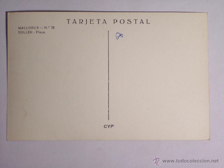 Postales: MALLORCA Nº 78 (SOLLER PLYA) - Foto 2 - 48113147