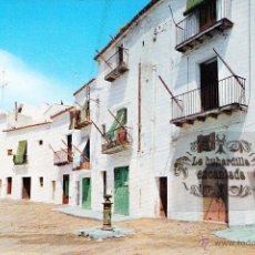 Postales: POSTAL - IBIZA - CALLE TIPICA - CASA FIGUERETAS - NO CIRCULADA . Lote 48278702