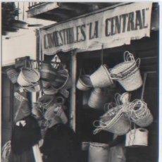 Cartes Postales: POSTAL IBIZA CIUDAD TIENDA TIPICA COMESTIBLES LA CENTRAL ED. CASA PLANAS N0 52 - 1960. Lote 48298166