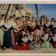 Postales: POSTAL MALLORCA GRUPO FOLKLORICO AIRES MALLORQUINES DEL PONT D INCA N0 5. Lote 48427418