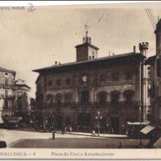 Postales: P- 831. POSTAL FOTOGRAFICA DE MALLORCA. PLAZA DE CORT Y AYUNTAMIENTO.. Lote 48766540