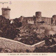 Postales: P- 843. ANTIGUA POSTAL FOTOGRAFICA DE MALLORCA. CASTILLO DE BELLVER.. Lote 48809345