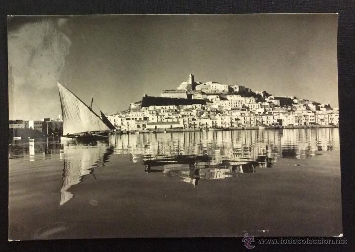 IBIZA (BALEARES). LA CIUDAD. SERIE I. Nº 3605. CIRCULADA 1957. (Postales - España - Baleares Antigua (hasta 1939))