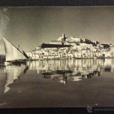 Postales: IBIZA (BALEARES). LA CIUDAD. SERIE I. Nº 3605. CIRCULADA 1957. . Lote 48845750