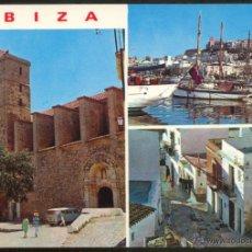 Postales: 275 - IBIZA (BALEARES).- DETALLES DE LA CIUDAD.. Lote 48899774