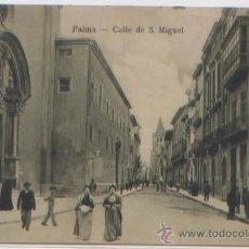 POSTAL PALMA DE MALLORCA CALLE DE SAN MIGUEL ED. JOSE TOUS BALEARES