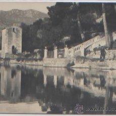 Postales: POSTAL FOTO AGFA ALQUERIA DE RAIXA EL ESTANQUE SAFAREIG LA ESCALERA MALLORCA BALEARES. Lote 49102365