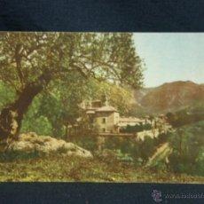 Postales: POSTAL MALLORCA LA CARTUJA DE VALDEMOSA FOTO BALEAR HAUSMANN CIRCULADA COLOREADA. Lote 49114168