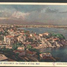 Postales: PALMA DE MALLORCA - LA CIUDAD Y EL CORP MARI. Lote 49172740