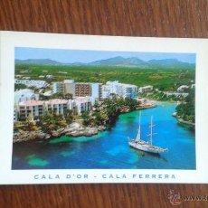 Postales: POSTAL DE MALLORCA, CALA D'OR- CALA FERRERA AÑOS 80. Lote 277677493