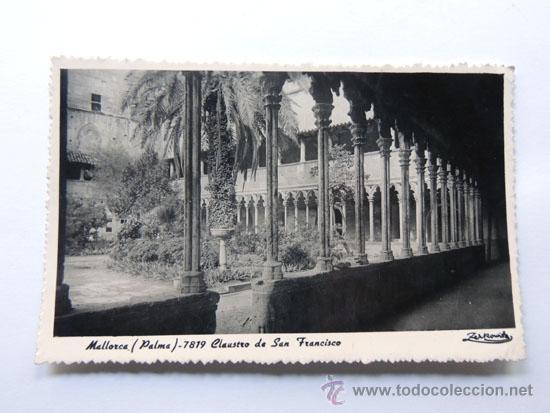 POSTAL DE MALLORCA / CLAUSTRO DE SAN FRANCISCO / V. ROTGER MESQUIADA / ZERKOWITZ (Postales - España - Baleares Moderna (desde 1.940))