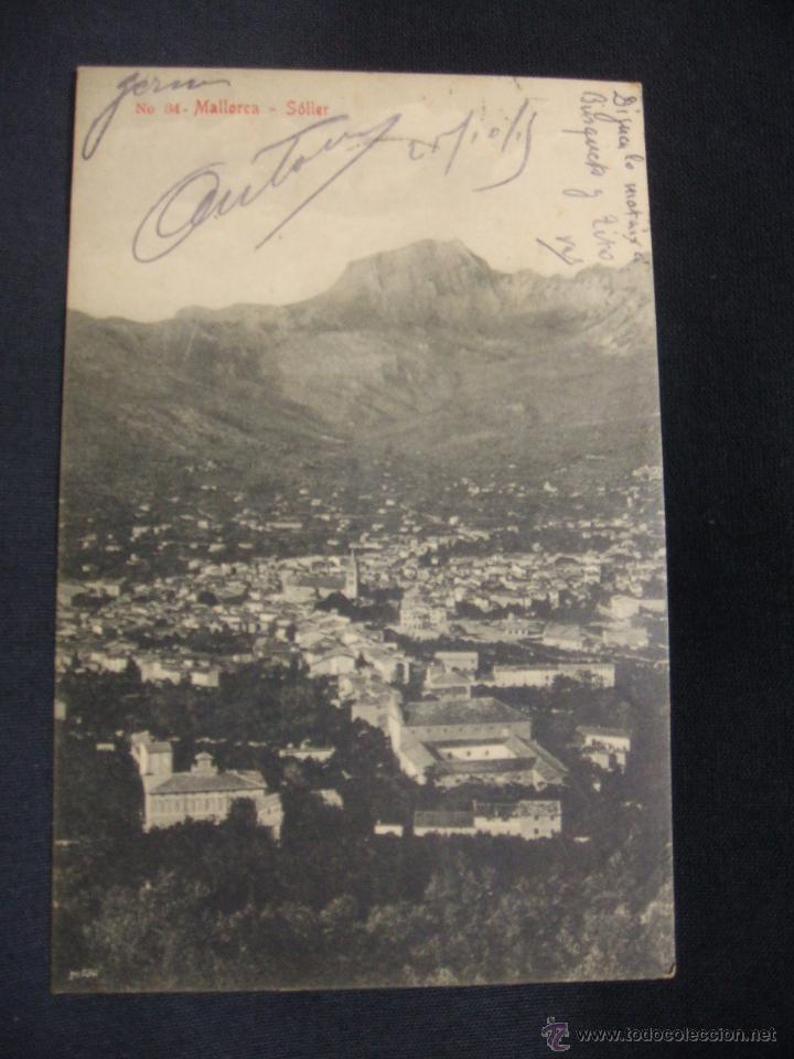 POSTAL - MALLORCA - SOLLER - (Postales - España - Baleares Antigua (hasta 1939))