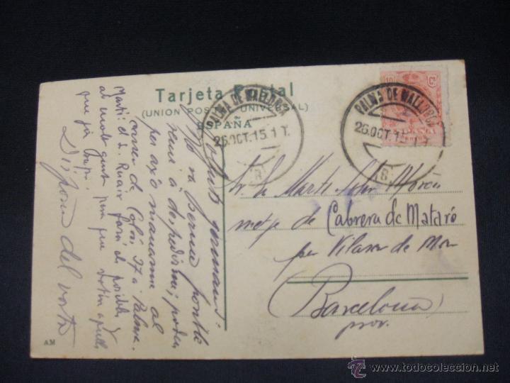 Postales: POSTAL - MALLORCA - SOLLER - - Foto 2 - 49654944