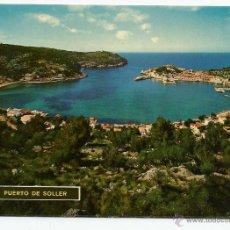 Postales: POSTAL MALLORCA - PUERTO DE SOLLER - ED. ICARIA 1965. Lote 49710314