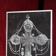 Postales: ANTIGUA POSTAL DE LA CATEDRAL DE MALLORCA. FRAGMENTO DE LA VERA CRUZ. SIN CIRCULAR. Lote 49934683
