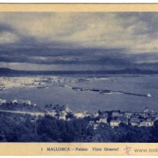 Postales: BONITA POSTAL - MALLORCA - PALMA - VISTA GENERAL. Lote 49950555