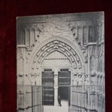 Postales: ANTIGUA POSTAL DE PALMA DE MALLORCA. CATEDRAL, PUERTA DE MIRADOR. HAUSER Y MENET. ED. JOSÉ TOUS. Lote 49971089