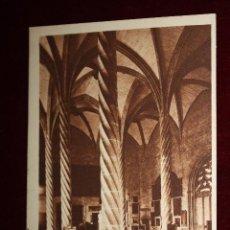 Postales: ANTIGUA POSTAL DE PALMA DE MALLORCA. INTERIOR DE LA LONJA. CIRCULADA. Lote 49971793
